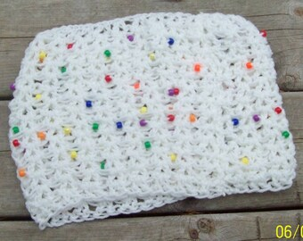 KIDS NECK WARMER with Multi Colored Beads