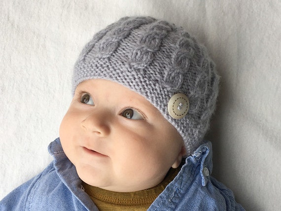Baby Hat Knitting Pattern Baby Hat Pattern Knit Baby Hat
