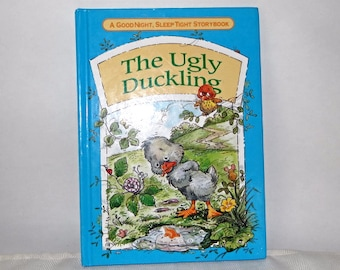 The Ugly Duckling childrens book, 1993, A Goodnight, Sleep Tight Book, childrens reading, learning to read