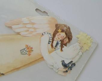 Folk Art Angel Wallpaper Decals, Donnas Wallpaper Cutouts