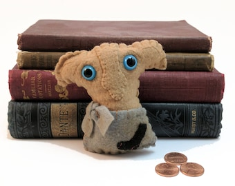 Dobby Hogwarts plushie (made to order)