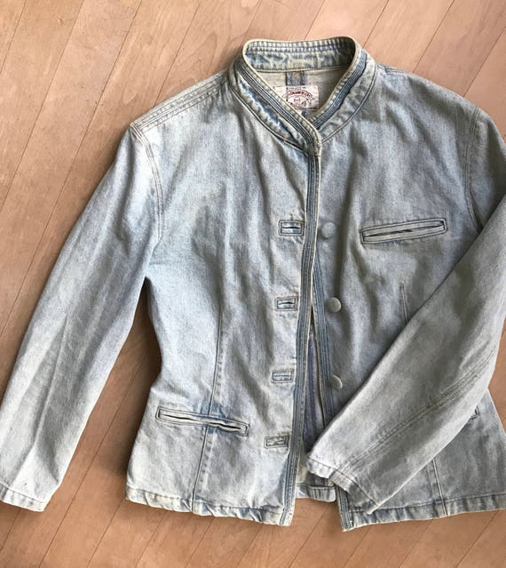 Vintage Armani Jeans jacket or blazer, size USA 10, UK 14, EUR 40