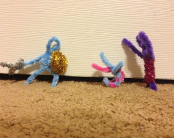 Medieval Pipe Cleaner Play Pack Knight saves Damsel in Distress