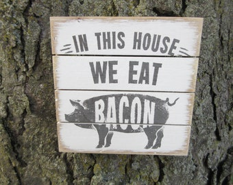 Man Cave Craft Eats Bacon : Bacon decor etsy