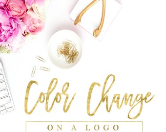 Color Change, Logo Color Change