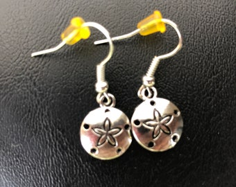 Circle star earring