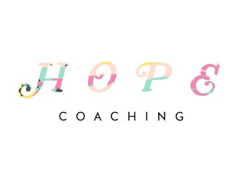Colorful Flaired Hope Coaching Logo