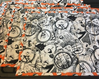 Nightmare Before Christmas placemats