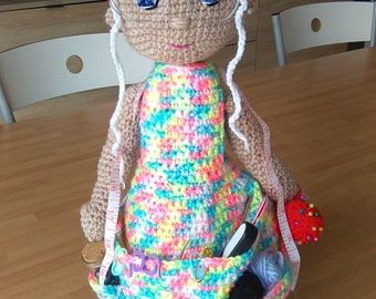 Granny brings work Items