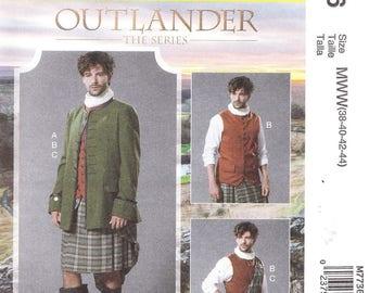 McCall's 7736 Men's Celtic Costume Pattern