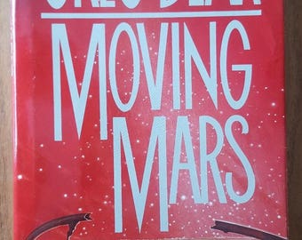 Moving Mars by Greg Bear (1993, Hardcover) Sci-Fi / Fantasy