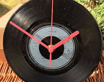 Vintage Vinyl Record Clock - Village People - Go West