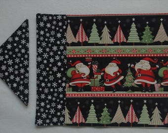 Santa Placemats & Napkins (Set of 4)
