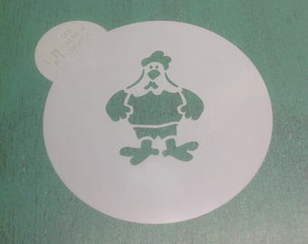 Cookie stencil- Rooster