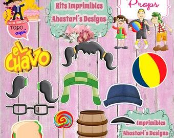 "Kit #Imprimible #Props ""#Chavo"" (#Accesorios) #DIY"