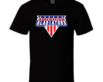 American Gladiators 90's Retro Tv Show T Shirt