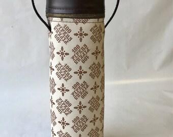 Vintage 100 Pipers Bottle Tote or Bag