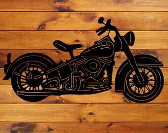 Vintage Motorcycle Decal