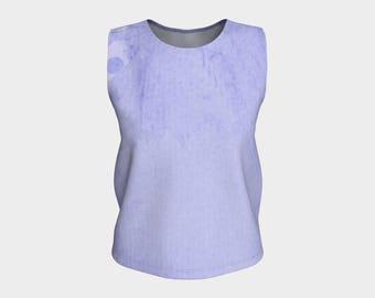 Mandala Wash Simple Coordinating Loose Tank Top Shirt Blouse Comfy Wardrobe Design Ladies' Women's Girls' Fashionista Fashion Casual Wear