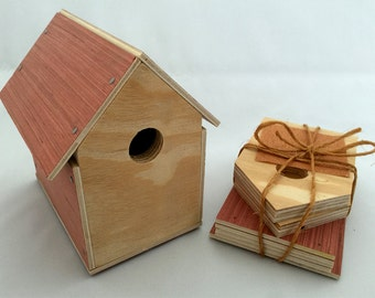 Birdhouse Kit. Perfect for Scouts, or Childs first project.