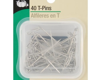 "Dritz 40 T-Pins Size 28 - 1 3/4"" #101"