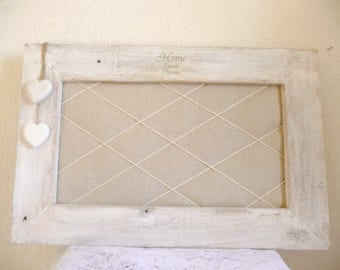 Jewelry or nature in shabby style photo frame