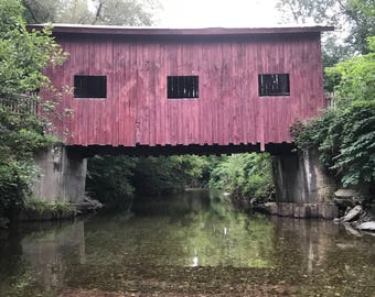 Mills Riverside Covered Bridge