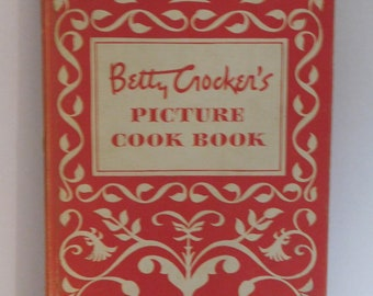 Vintage 1950 First Edition 9th Printing Betty Crocker's Picture Cook Book