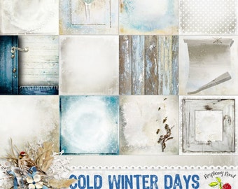 Cold Winter Days Paper Set