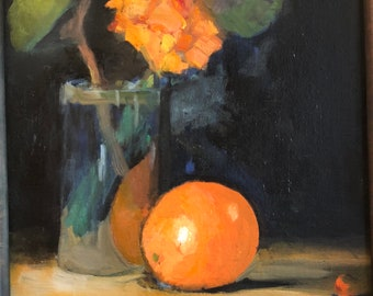 Orange and Lilly Pod