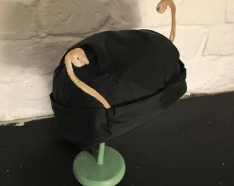 Vintage Fancy Dress Bug Insect Hat with Antennae