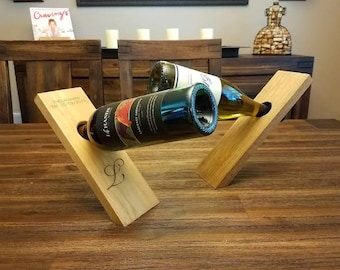 Single Bottle Wine Holder