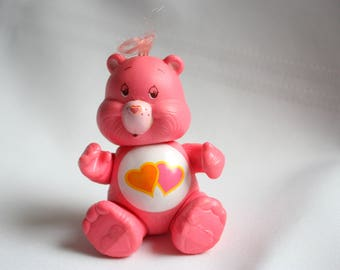 Love-a-Lot Care Bear,  Care Bear Collectible, Pink Care Bear- Posable Care Bear