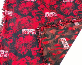 The Walking Dead - Walking Dead - Walking Dead Blanket - Walking Dead Bedding - Walking Dead Fan - Walking Dead Boy - Walking Dead Gift