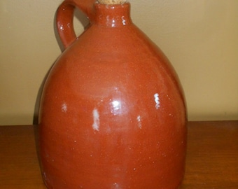 Vintage Sherbrooke Village Pottery, Nova Scotia Whiskey Jug