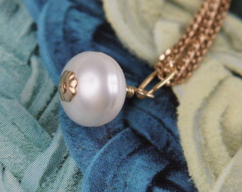 Pearl Charm June Birthstone  Pearl Charm  Pearl Beads Freshwater Pearl