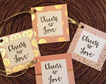 Custom Handlettered Place Cards, Favor Tags, Gift Tags, Wedding, Bridal Shower, Baby Shower, Party, Special Occasion