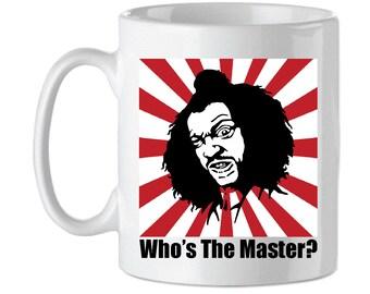 Who's The Master? SHONUFF Last Dragon Tribute Mug