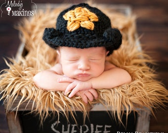 Cowboy Hat Knitting Pattern - 6 Sizes Included - PDF Sale - Instant Digital Download