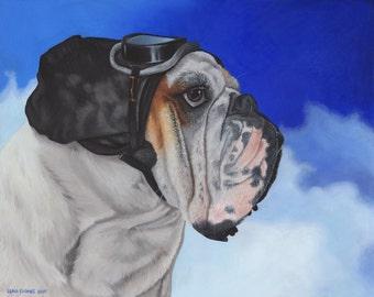 Custom Pet Portrait - Oil painting, dog art, cat art