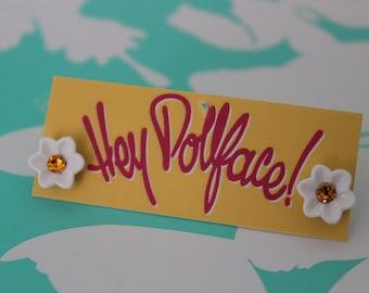Daisy Studs - Fun Flower Earrings