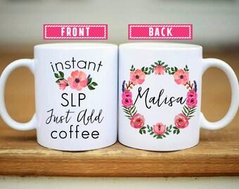 Speech Therapy Gifts, Speech Therapy Mug, Gifts for Speech Therapist, SLP gifts, Gift for SLP, SLP graduation, speech language pathologist
