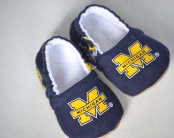 U Of Michigan Baby Etsy
