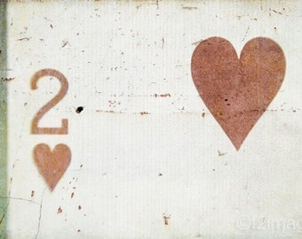 4x6 Two Hearts