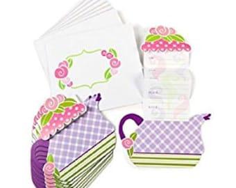 Tea Party Invitations / Tea Party Theme