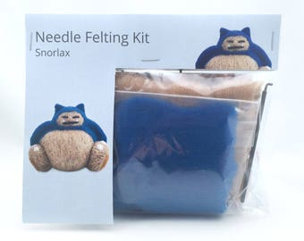 Make Your Own Snorlax Kit - makes 1.