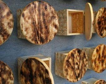 Wooden Fine Art Storage Unit