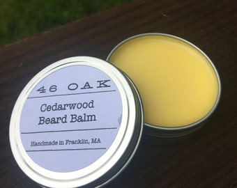 Beard Balm Natural Organic Father's Day Gift Essential Oils