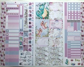 Dino Personal Planner Sticker Kit: