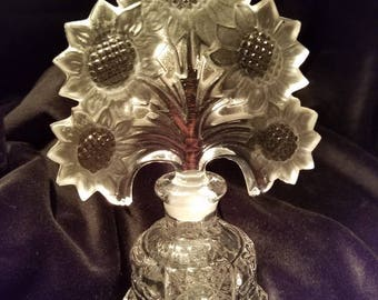 Irice Sunflowers Perfume Bottle